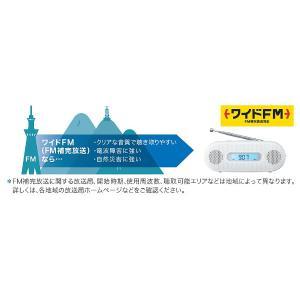 パナソニック 【ワイドFM対応】FM/AM 手回し充電ラジオ(ホワイト) RF-TJ20-W|y-sofmap|05