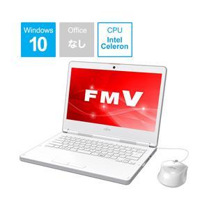 富士通 LIFEBOOK LH35/C2 14.0型ノートパソコン Cleron メモリ4GB SSD128GB Windows10 アーバンホワイト FMVL35C2W|y-sofmap