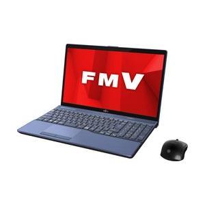 富士通 LIFEBOOK AH77/D1 15.6型ノートパソコン Core i7 メモリ8GB HDD1TB Office付き Windows10 メタリックブルー FMVA77D1L|y-sofmap