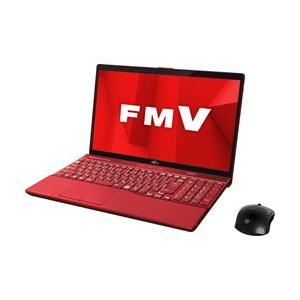 富士通 LIFEBOOK AH53/D1 15.6型ノートパソコン メモリ8GB HDD1TB Office付き Windows10 ガーネットレッド FMVA53D1R y-sofmap