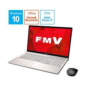 富士通(FUJITSU) LIFEBOOK NH90/D2 FMVN90D2G シャンパンゴールド 17.3型ノートパソコン Core i7 メモリ8GB SSD256GB+HDD1TB Office付き Windows10|y-sofmap