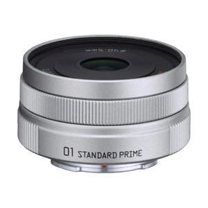 ペンタックス PENTAX カメラレンズ 8.5mm F1.9 「01 STANDARD PRIME」【ペンタックスQマウント】(シルバー)|y-sofmap
