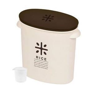 パール金属 RICE お米袋のままストック(5kg用) HB-2168 ブラウン