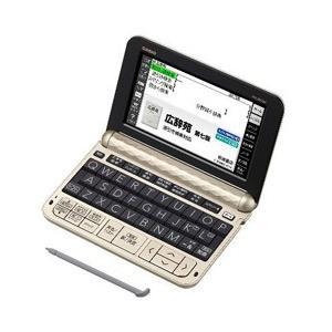 カシオ 電子辞書「エクスワード(EX-word)」(生活・教養モデル・160コンテンツ搭載) XD-Z6500GD (ゴールド)