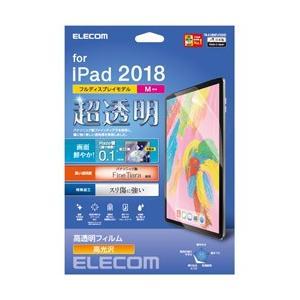 エレコム iPad Pro 11インチ 2018年モデル 保護フィルム ファインティアラ(対擦傷) 超透明 TB-A18MFLFIGHD|y-sofmap
