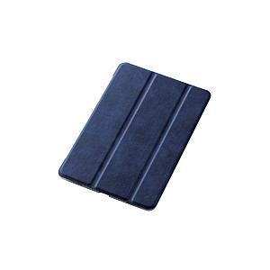 エレコム iPad mini 2019 フラップカバー 極み設計 ファブリックフラップ 2アングル スリープ対応 ネイビー TB-A19SCWVKNV|y-sofmap