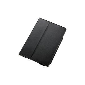エレコム iPad mini 2019 ソフトレザーカバー 2アングル ブラック TB-A19SPLFBK|y-sofmap