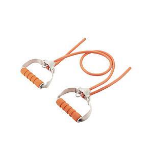ELECOM(エレコム) エクリアスポーツ ハンドル付トレーニングチューブ スタンダード オレンジ