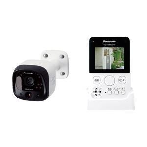 無線接続により配線工事やネット接続が不要のモニター付き屋外カメラ。