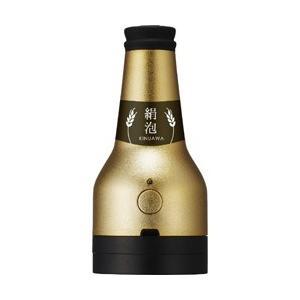 ドウシシャ ビアサーバー ビンタイプ 「絹泡サーバー」 DKB-18GD ゴールド