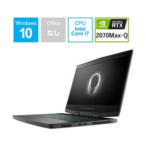 DELL(デル) ALIENWARE m15 15.6型ゲーミングノートパソコン Core i7 メモリ16GB SSD256GB+HDD1TB Windows10 シルバー NAM95VR-9HL  (NAM95VR9HL)|y-sofmap