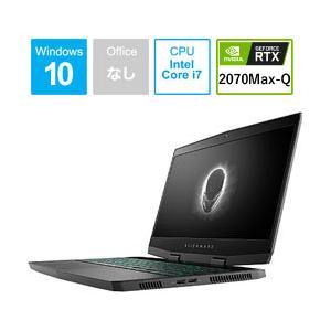 DELL(デル) ALIENWARE m15 15.6型ゲーミングノートパソコン Core i7 メモリ16GB SSD256GB+HDD1TB Windows10(英語版) シルバー NAM95E-9HL (NAM95E9HL)|y-sofmap