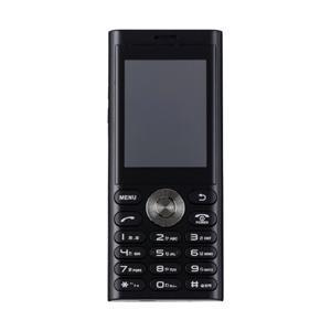 UNMODE(アンモード) un.mode phone01「UM-01BK」ブラック 2.4型・標準...