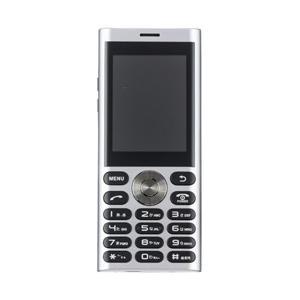 UNMODE(アンモード) un.mode phone01「UM-01S」シルバー 2.4型・標準S...