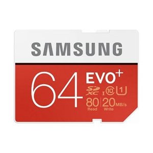 SAMSUNG Class 10/UHS-I Class1 64GB SDXCメモリカード MB-S...