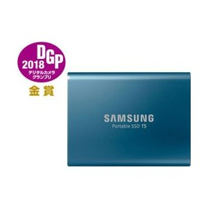 SAMSUNG(サムスン) MU-PA500B/IT ポータブルSSD T5シリーズ [外付けSSD...