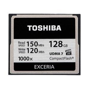 東芝 CF-EZ128  128GBコンパクトフラッシュ E...