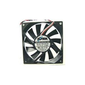 1 PCS XINRUILIAN XFAN  RDL8015S Fan DC 12V 0.09A   80*15MM 3 PIN