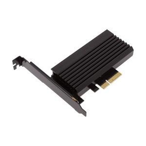 PCI Express接続のM.2 SSDスロットを1基搭載したPCI Expressカードです。