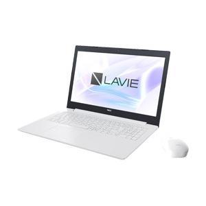 NEC LAVIE Note 15.6型ノートパソコン Celeron メモリ4GB HDD1TB Office付き Windows10 カームホワイト PC-NS150KAW (PCNS150KAW) [振込不可]|y-sofmap