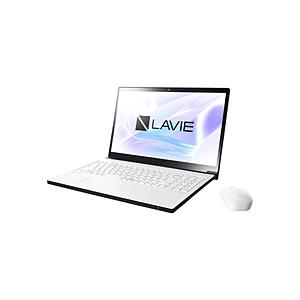 NEC LAVIE Note NEXT 15.6型ノートパソコン Core i7 メモリ8GB SSD256GB+HDD1TB Office付き Windows10 プラチナホワイト PC-NX850NAW (PCNX850NAW)|y-sofmap