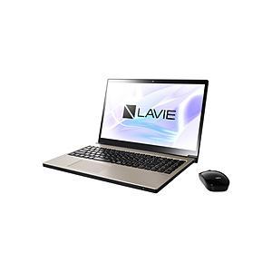 NEC LAVIE Note NEXT 15.6型ノートパソコン Core i7 メモリ8GB SSD256GB+HDD1TB Office付き Windows10 クレストゴールド PC-NX850NAG (PCNX850NAG) y-sofmap