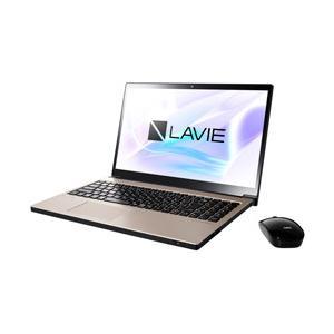 NEC LAVIE Note NEXT 15.6型ノートパソコン Core i7 メモリ8GB HDD1TB Office付き Windows10 クレストゴールド PC-NX750NAG (PCNX750NAG) y-sofmap
