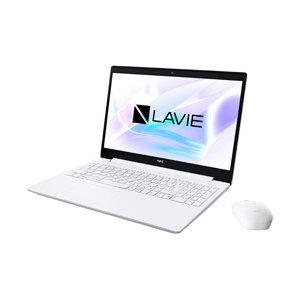 NEC LAVIE Note Standard 15.6型ノートパソコン Celeron メモリ4GB HDD1TB Windows10 カームホワイト PC-NS150NAW (PCNS150NAW)|y-sofmap