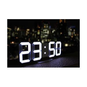 日本ポステック 3DデザインのLEDデジタル時計 Tri Clock|y-sofmap