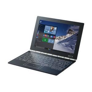 Lenovo(レノボ) YOGA BOOK with Windows10.1型ノートPC Atom x5-Z8550 メモリ4GB フラッシュメモリー64GB Windows10 カーボンブラック ZA150086JP [振込不可]|y-sofmap
