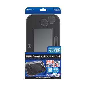 アンサー Wii U用 ゲームパッド クリアプロテクト クリアブラック [振込不可] y-sofmap