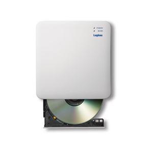ロジテック(Logitec) LDR-PS5GWU3RWH(ホワイト) WiFi対応・CD録音ドライ...