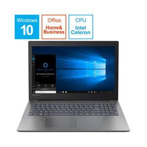 Lenovo(レノボ) ideapad 330 15.6型ノートパソコン Celeron メモリ4GB HDD1TB Windows10 オニキスブラック 81DE02NKJP|y-sofmap