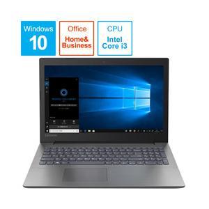 Lenovo(レノボ) ideapad 330 i3 15.6型ノートパソコン Core i3 メモリ4GB HDD1TB Windows10 オニキスブラック 81DC014YJP|y-sofmap