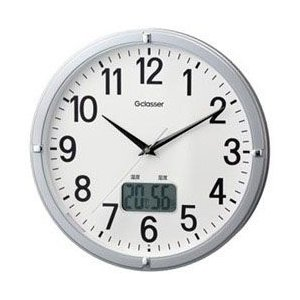 キングジム 電波掛け時計 「デジサーモ」 GDK-002|y-sofmap
