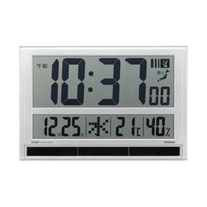 キングジム ハイブリットデジタル電波掛け時計 GDD-001|y-sofmap