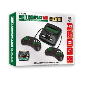 コロンバスサークル 16ビットコンパクトMD HDMI [ゲーム機本体] [CC-16CMH-BK]|y-sofmap