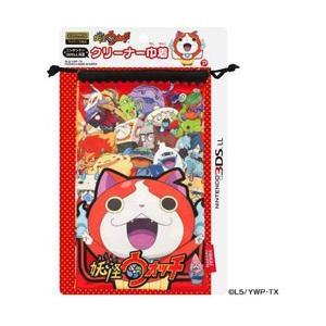 プレックス 妖怪ウォッチ NINTENDO 3DS LL対応 クリーナー巾着 レッド 【3DS LL...