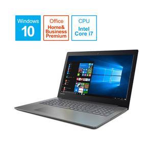Lenovo(レノボ) ideapad 320 15.6型ノートパソコン Core i7 メモリ4GB HDD1TB Office付き Windows10 オニキスブラック 80XL00MNJP [振込不可]|y-sofmap