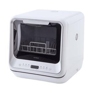 シロカ siroca 食器洗い乾燥機 SS-M151 ホワイト [工事不要/コンパクトサイズ/予約タ...