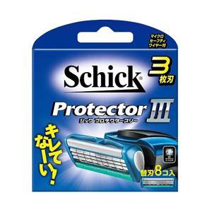 シック Schick Schick(シック) プロテクタースリー 替刃8個入 〔ひげそり〕
