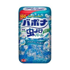 アース製薬 【バポナ】虫よけパール 160日用 アクアソープの香り〔虫よけ〕