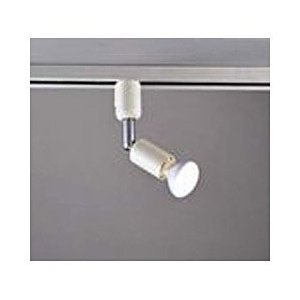 ダクト照明用スポットライト。ダクトレール内を自由にスライド。角度調整可能。40Wミニレフ球仕様。交換...