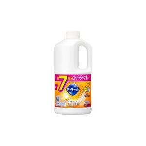 花王 【キュキュット】オレンジの香り つめかえ用 スーパージャンボサイズ7回分(1380ml)〔食器用洗剤〕