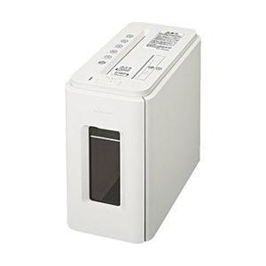 コクヨ デスクサイドクロスカットシュレッダー 「サイレント・デュオ」(A4サイズ/CD・カードカット対応) KPS-MX100W(ノーブルホワイト)