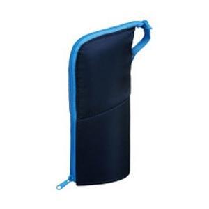 コクヨ [ペンケース] ペンケース ネオクリッツ ラージサイズ ネイビー×ライトブルー F-VBF1...