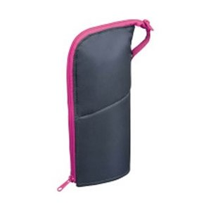 コクヨ [ペンケース] ペンケース ネオクリッツ ラージサイズ ダークグレー×ピンク F-VBF18...