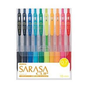 ゼブラ [ジェルボールペン] サラサクリップ 10色セット (ボール径:0.7mm) JJB15-10CA y-sofmap