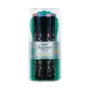 サクラクレパス [ゲルインクボールペン] デコレーゼ 5CセットB スパイスカラー DB206G5B y-sofmap