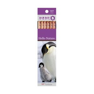 トンボ鉛筆 [鉛筆]かきかた鉛筆 ハローネイチャー コウテイペンギン(硬度:B) 1ダース KB-KHNEPB|y-sofmap